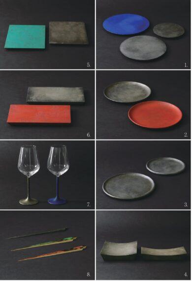 新潟漆器利用促進事業リース指定8商品