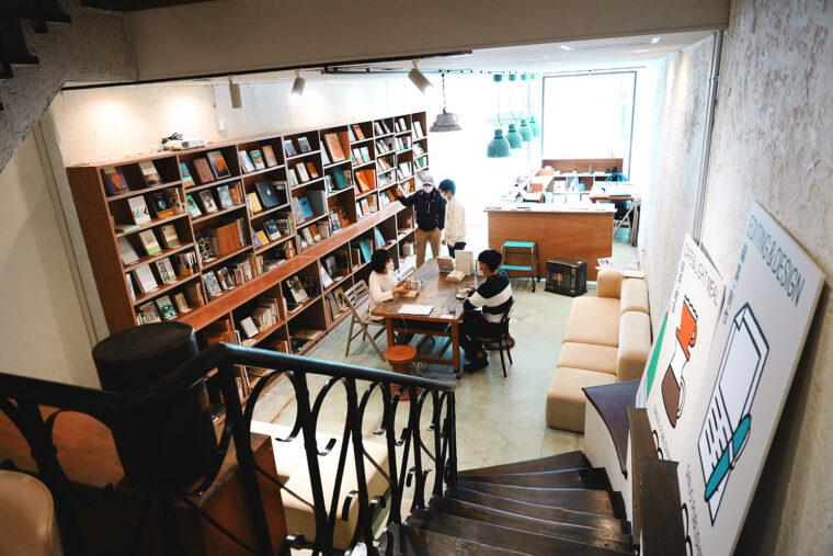 SANJO PUBLISHING 店内