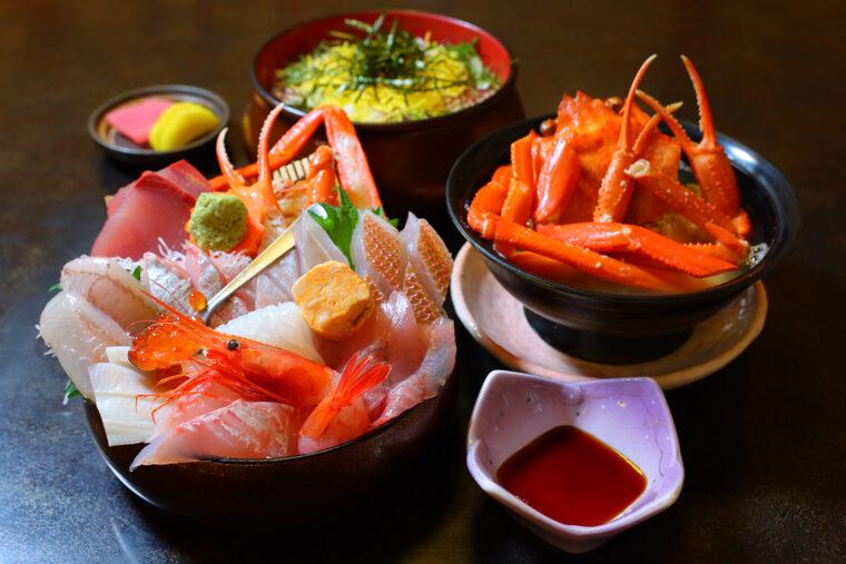 『海鮮丼(上)』(1,760円)