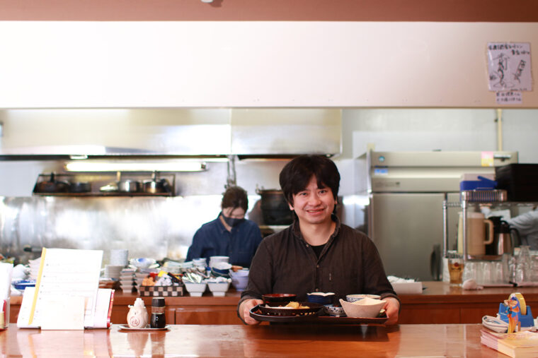 店主の小田さんは調理の専門学校を卒業した後に和食店で修業を積み、佐渡の魅力を発信するべく貴支をオープンさせた