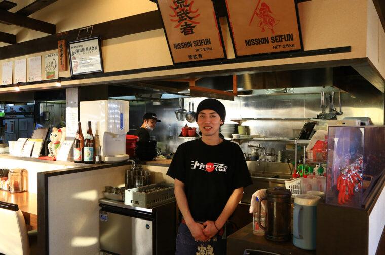 亀田店、店長の中澤さん