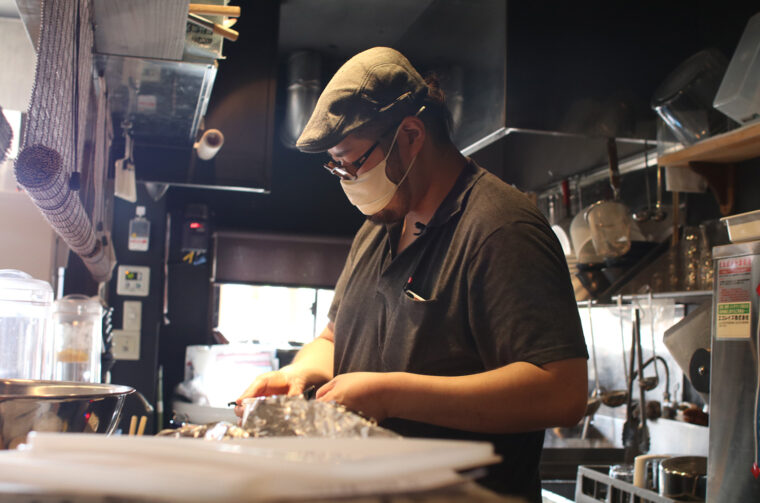 繊細な仕事と味わいは、さすが和食出身