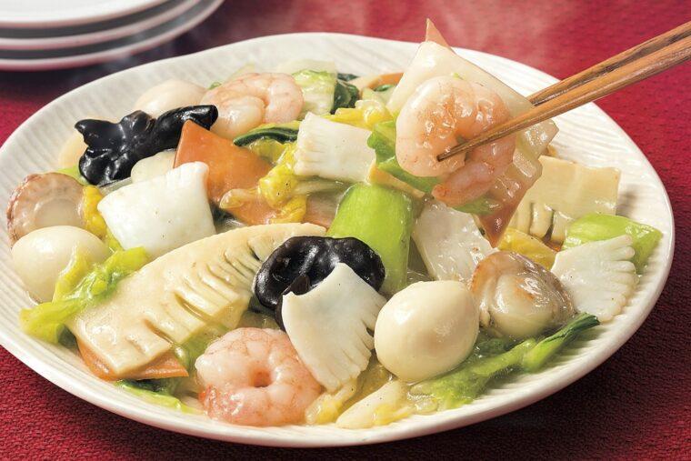 『9品目の八宝菜(海老・帆立・いか)』はミールキット部門人気No.1