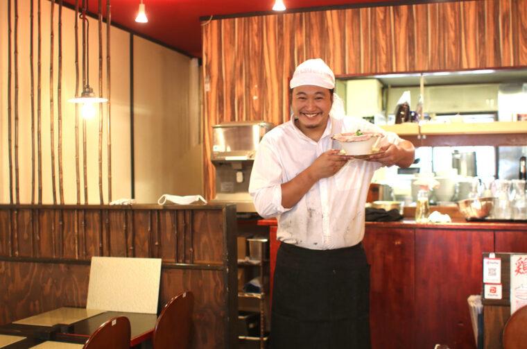 笑顔がとっても素敵な店主、遠藤さん