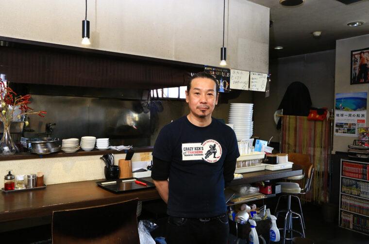 中華料理の技術や食材に詳しい店主の浮部さん