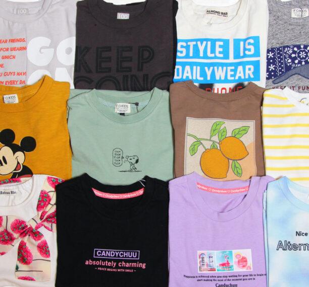 子ども用Tシャツのほんの一部です!