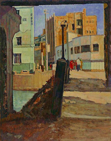 『街角』小野末 1950年