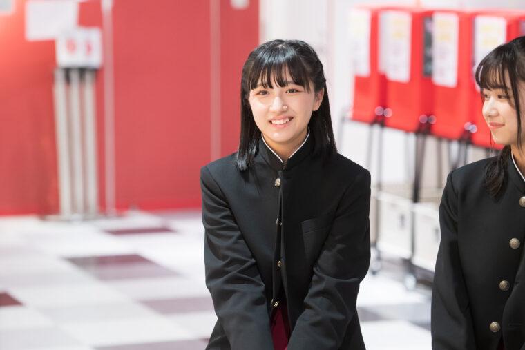 らーめん部最年少で2期生の小見山沙空(こみやまさら)。2004年7月27日生まれ。新潟県出身