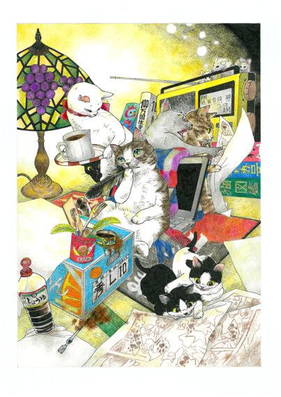 昨年度大賞を受賞した木村由美さんによるイラスト