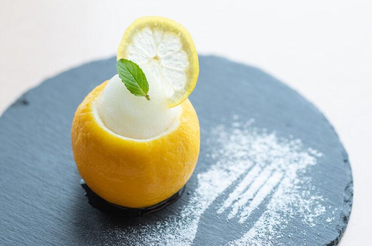 『レモンシャーベット』(400円)