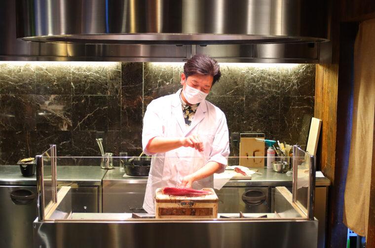 店主の斎藤さん。とっても気さくなお方です!
