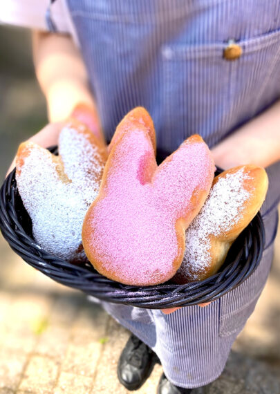 こちらもおすすめ! 『揚げクリームパン』(300円)。特製のカスタードクリームが美味しい♡
