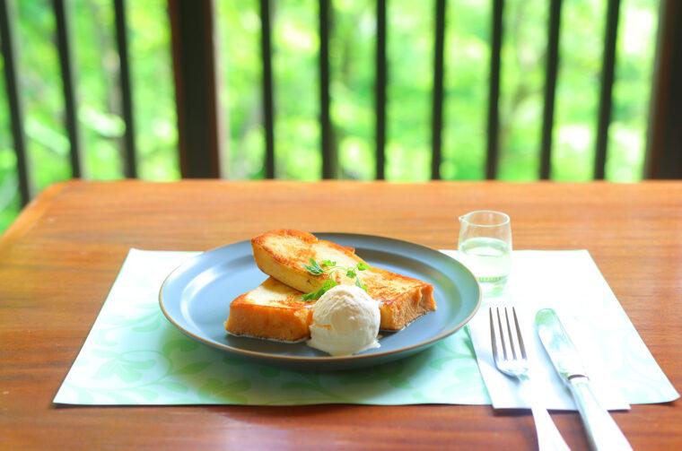 『フレンチトースト』(600円)