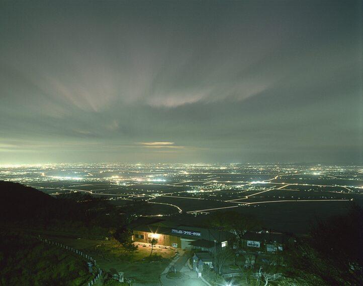 山頂駅付近から見た越後平野の景色! 実に美しい