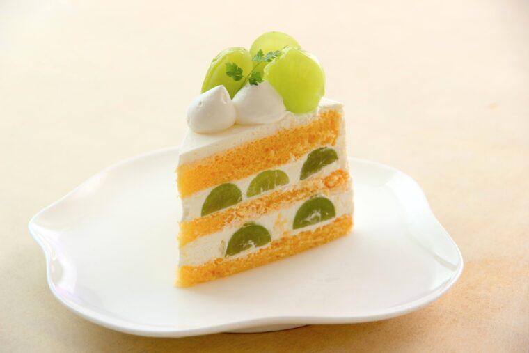 『シャインマスカットのショートケーキ』(450円)