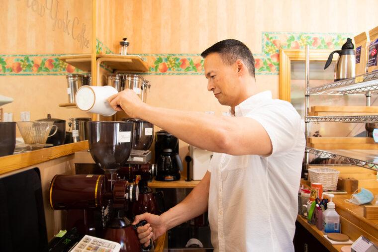 イベントを開催するときは、ダンさん自らコーヒーを淹れて提供されるそう