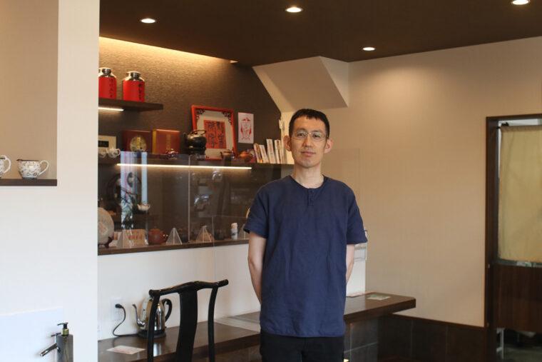 店主・相田さんは台湾での修業の後、東京の支店でも働らいていたそう