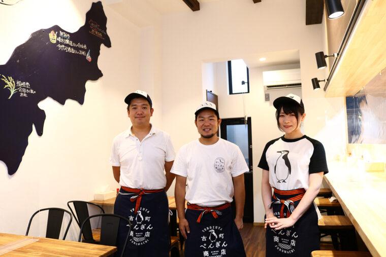 オーナーの早川さん(左)とスタッフさん