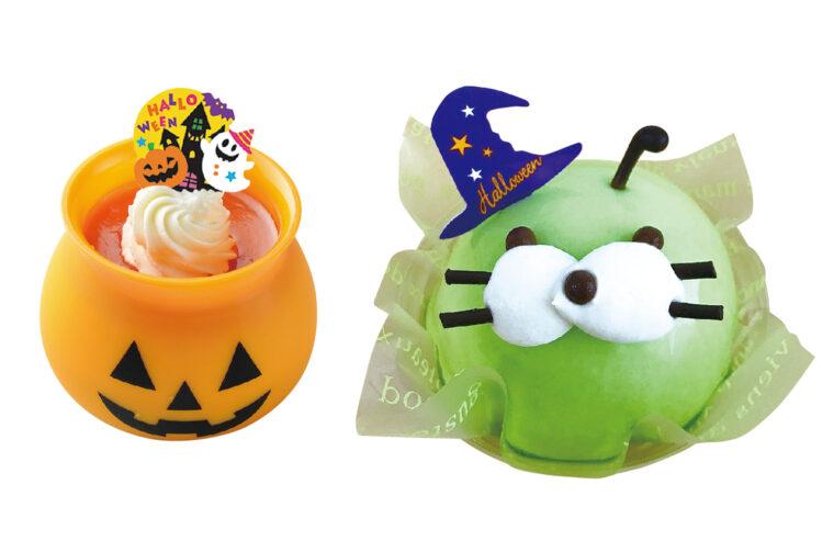 『かぼちゃプリン』1個400円/『マリンごちゃん』1個450円