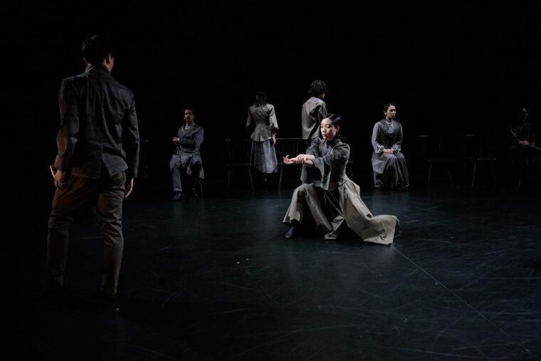 『Duplex』Noism0/Noism1(2021年)公演より Photo:Kishin Shinoyama