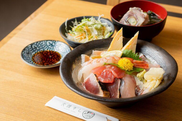 『まかない海鮮丼』(1,580円)